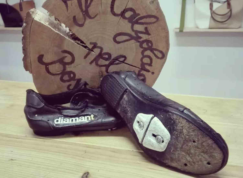 scarpa da ciclismo eroica risuolata