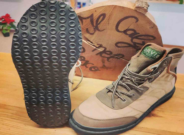 scarpa da wading risuolata