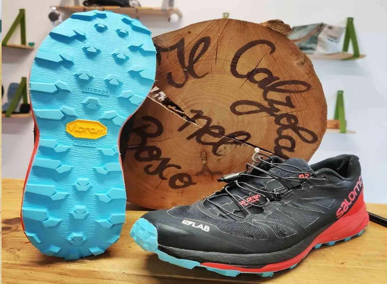 scarpa da trail running risuolata con lite base