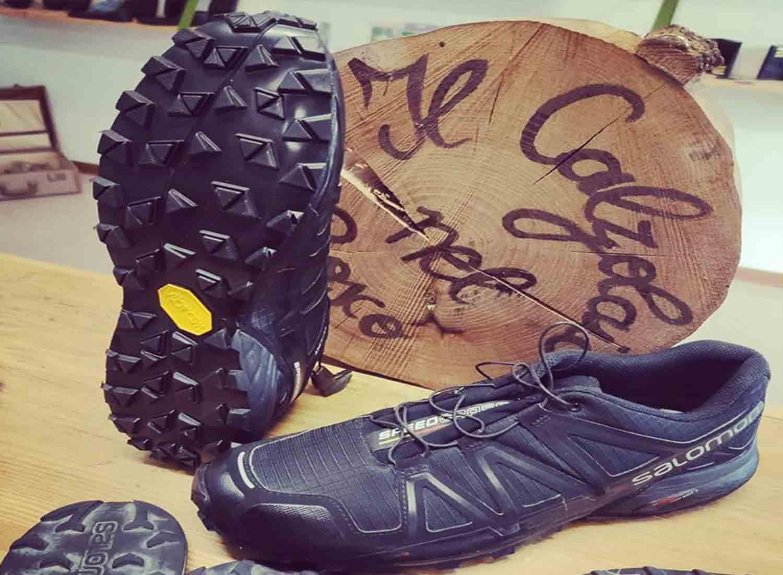 scarpa da running risuolata con zegama